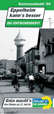 Flyer Kommunalwahl 2004