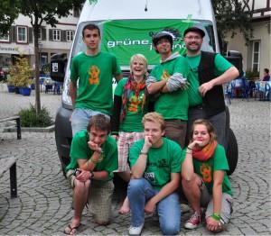 Grüne Jugend auf Hochtouren