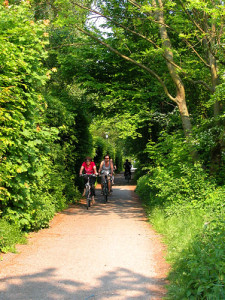 Grüner Rentnerweg