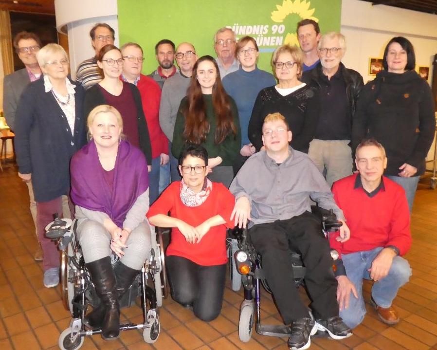 Grüne ziehen mit starker Liste in die Kommunalwahl