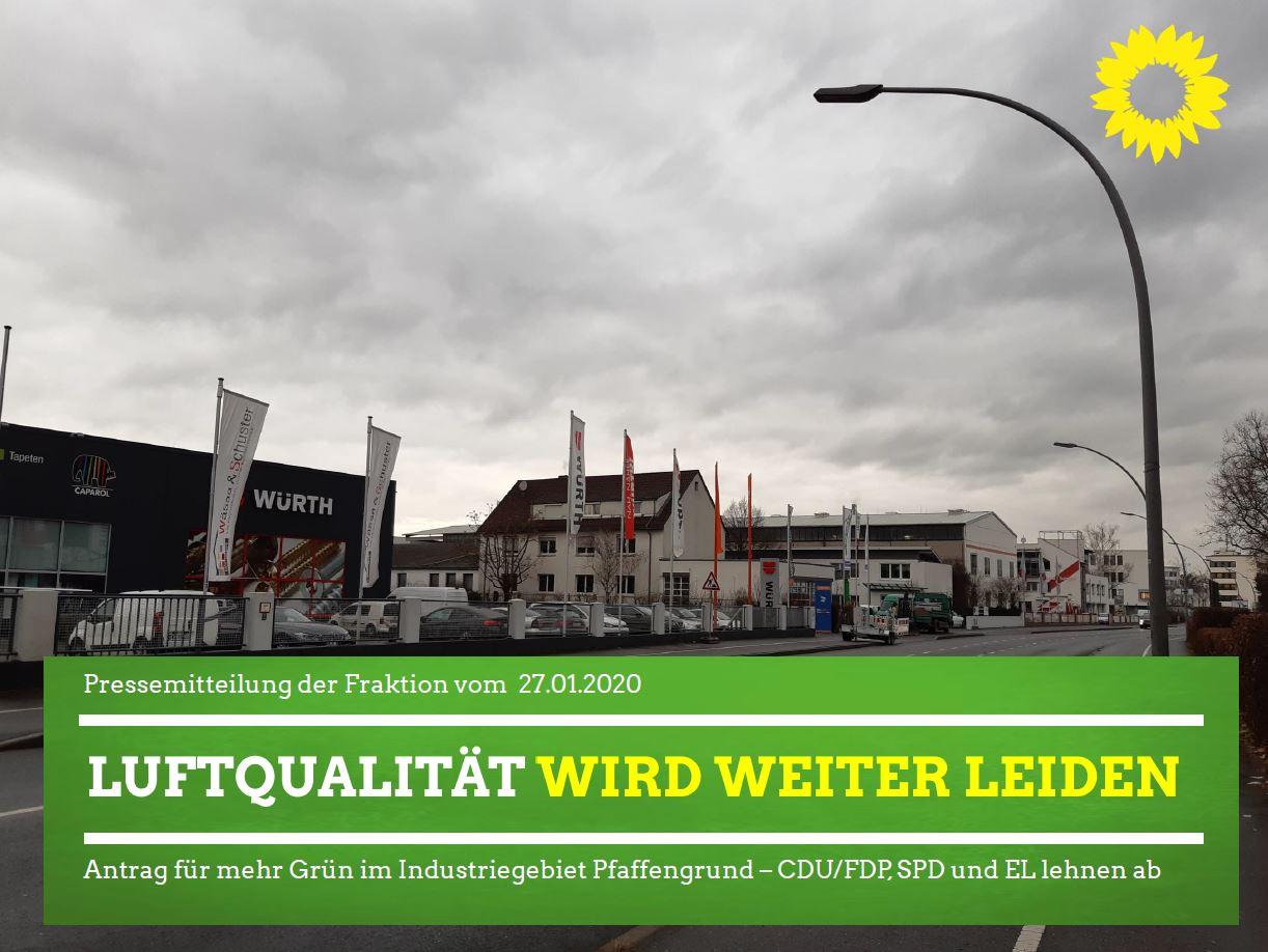 """""""Luftqualität in Eppelheim wird weiter leiden"""""""