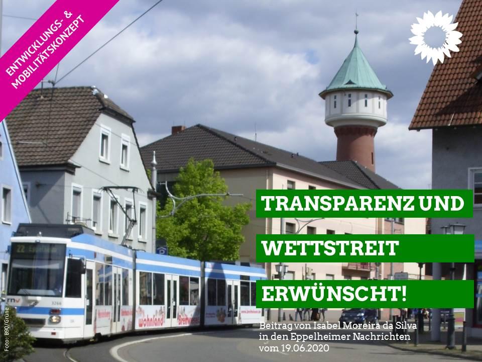 Transparenz und politischer Wettstreit erwünscht!