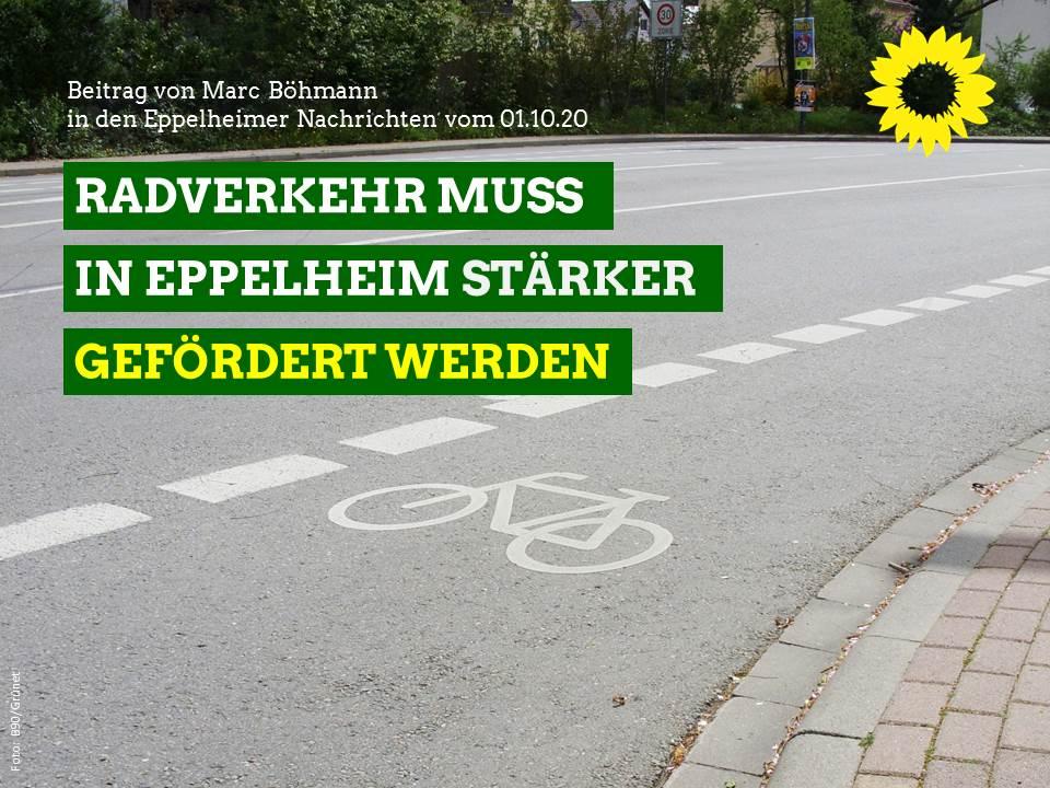 Radverkehr muss in Eppelheim stärker gefördert werden
