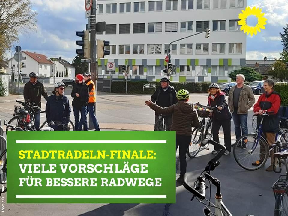 Stadtradeln-Finale: Viele Vorschläge für bessere Radwege