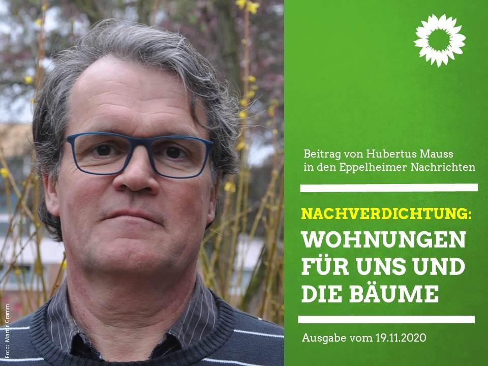 Nachverdichtung: Wohnungen für uns und die Bäume