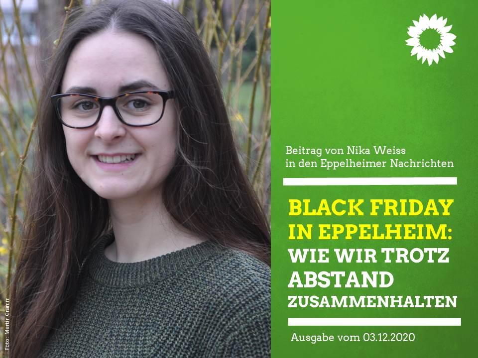 Black Friday in Eppelheim – Wie wir trotz Abstand zusammenhalten können