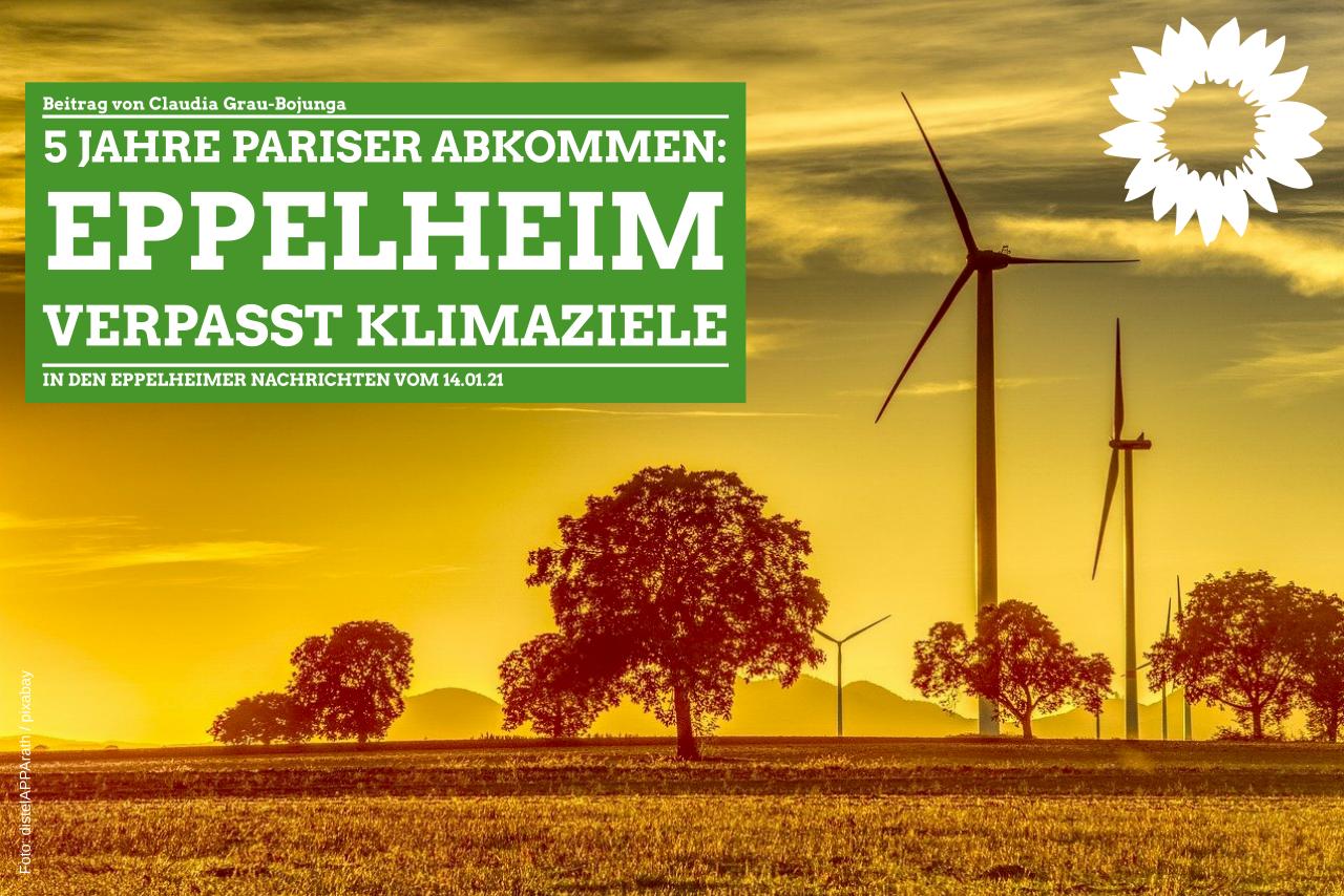 Fünf Jahre nach Pariser Abkommen: Eppelheim verfehlt Klimaziele