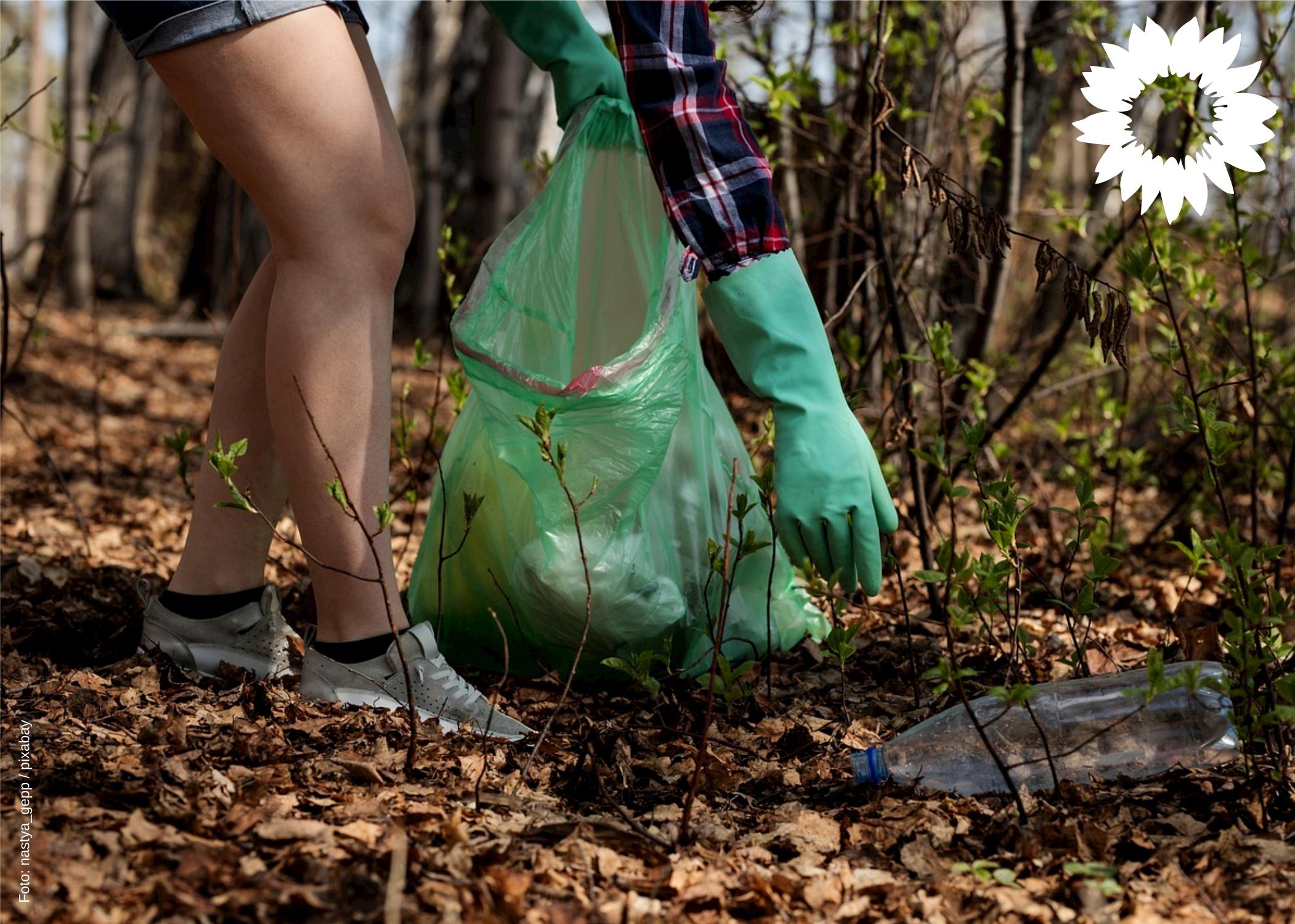 Müll: Die subtile Gefahr für unsere Wildtiere