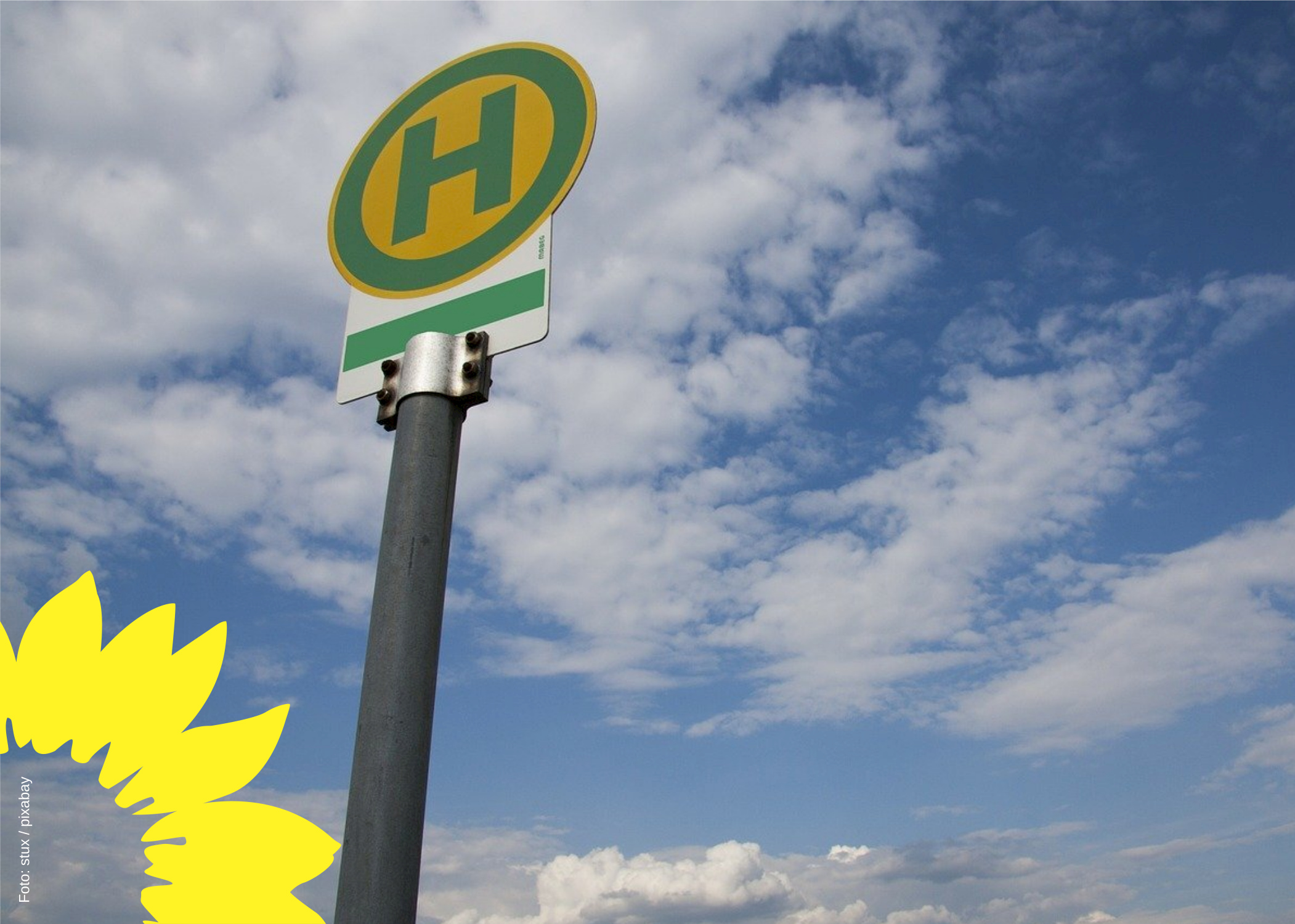 Grüne für elektronische Fahrplan-Anzeigen für City-Bus